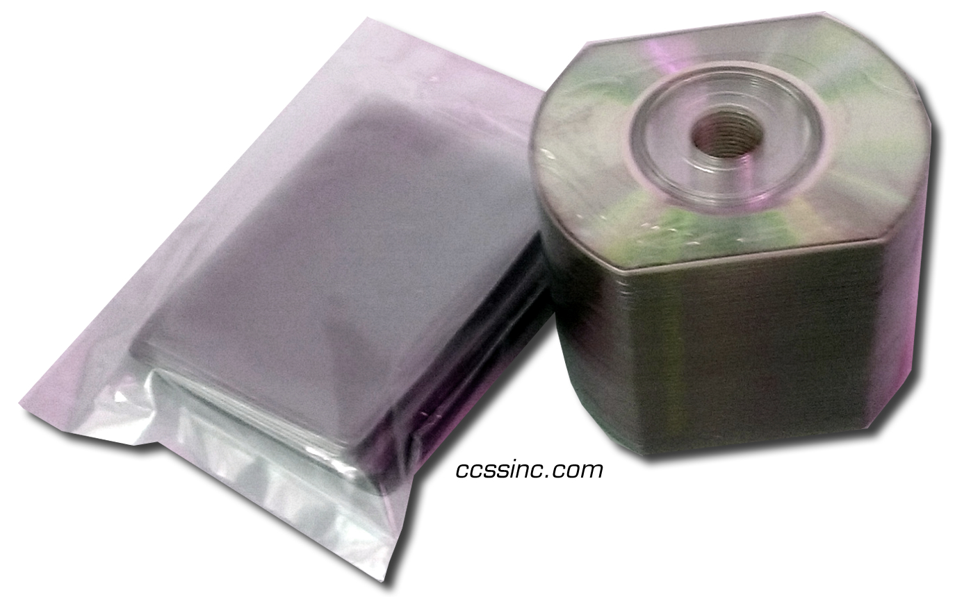 CDR 63mm 50mb 16x Sliver/Silver Thermal Printable