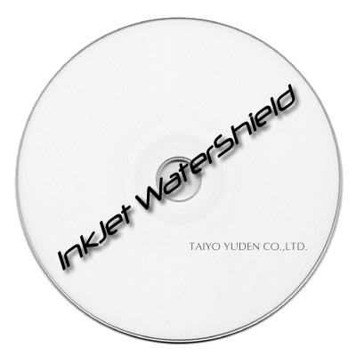 Taiyo CDR 80 min 52x White Top WaterShield InkJet Printable