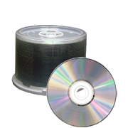 ProDisc DVD+R 4.7GB 8x Silver Shiny Thermal 50 Pack