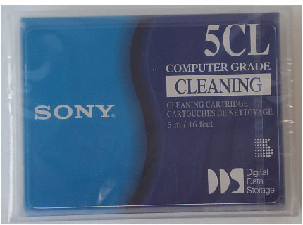 Sony DG5CL 4mm 5m Cleaning Tape Cartridge
