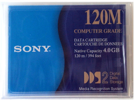 Sony DGD120M 4mm 120m 4.0 GB Tape Cartridge